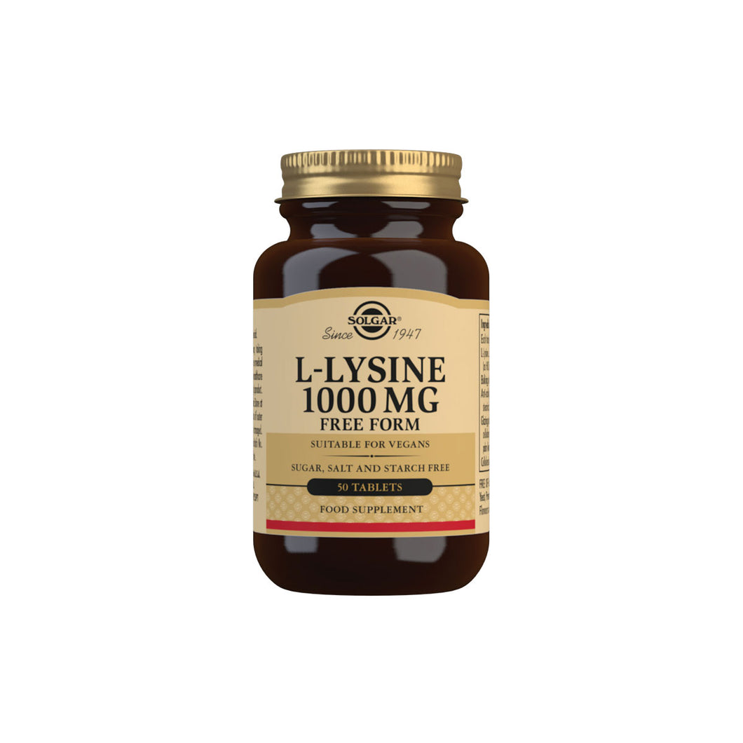 solgar lysine supplement