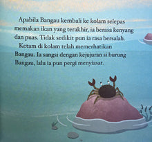 The Crane and the Crab (Malay edition)/ Bangau dan Ketam