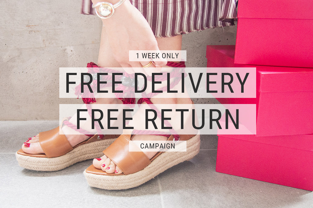 「FREE DELIVERY & FREE RETURNキャンペーン」がスタート!