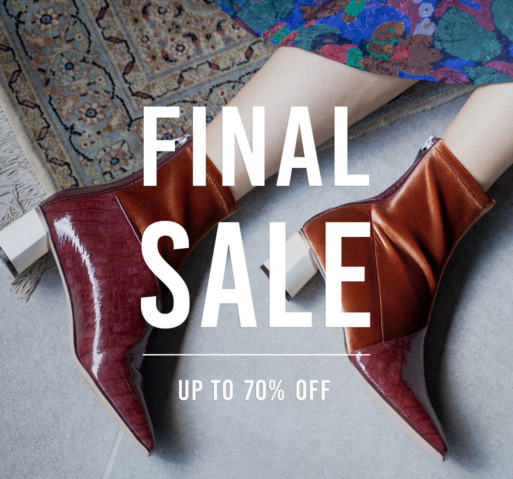 FINAL SALE 本日よりスタート!【UP TO 70%OFF】