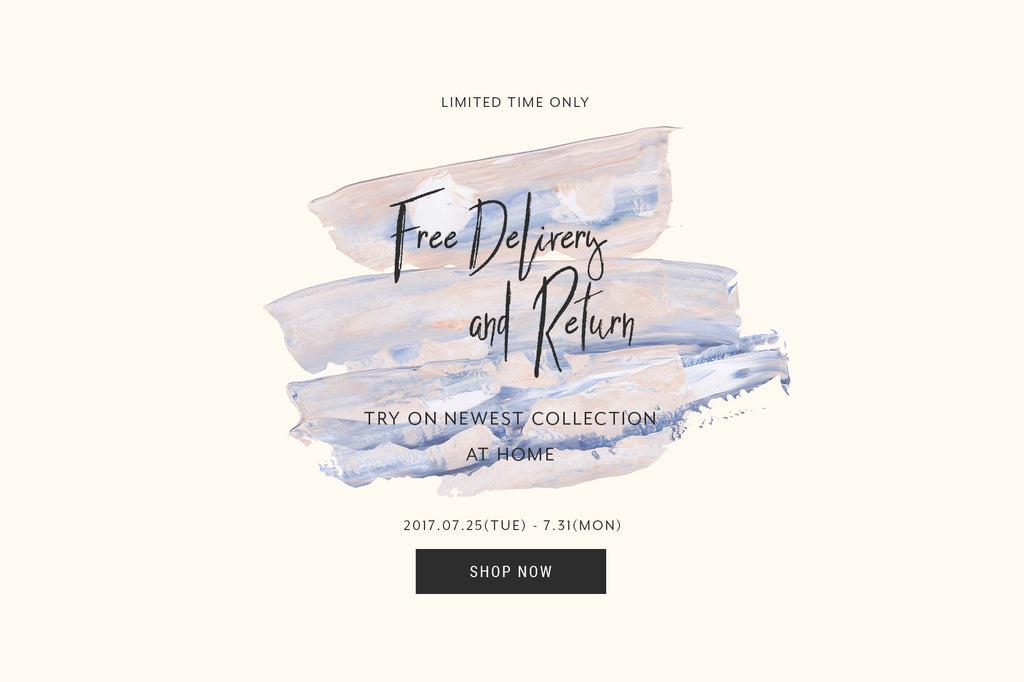 【1 WEEK ONLY】FREE DELIVERY & FREE RETURN