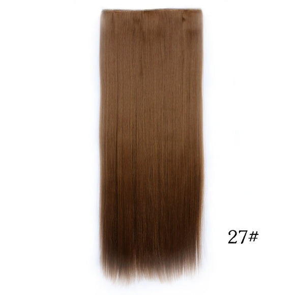 New 28inch 70cm 8colors 5 Clip In Hair Extensions Human Hair