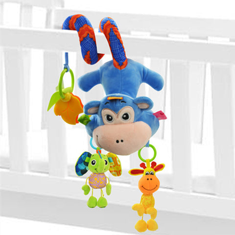 Cute Spiral Baby Rattles for Stroller Crib Cot