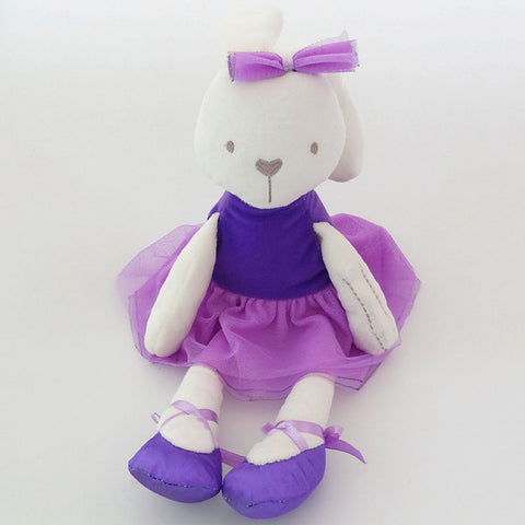 Cute Stuffed Plush Rabbit Toy For Baby Girls