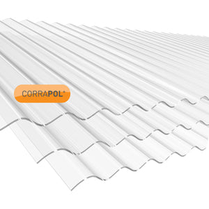 'Corrapol' Polycarbonate Corrugated Sheet (Low Profile)
