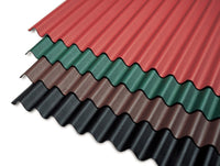Corrugated Bitumen Roofing Sheet (Coloured)
