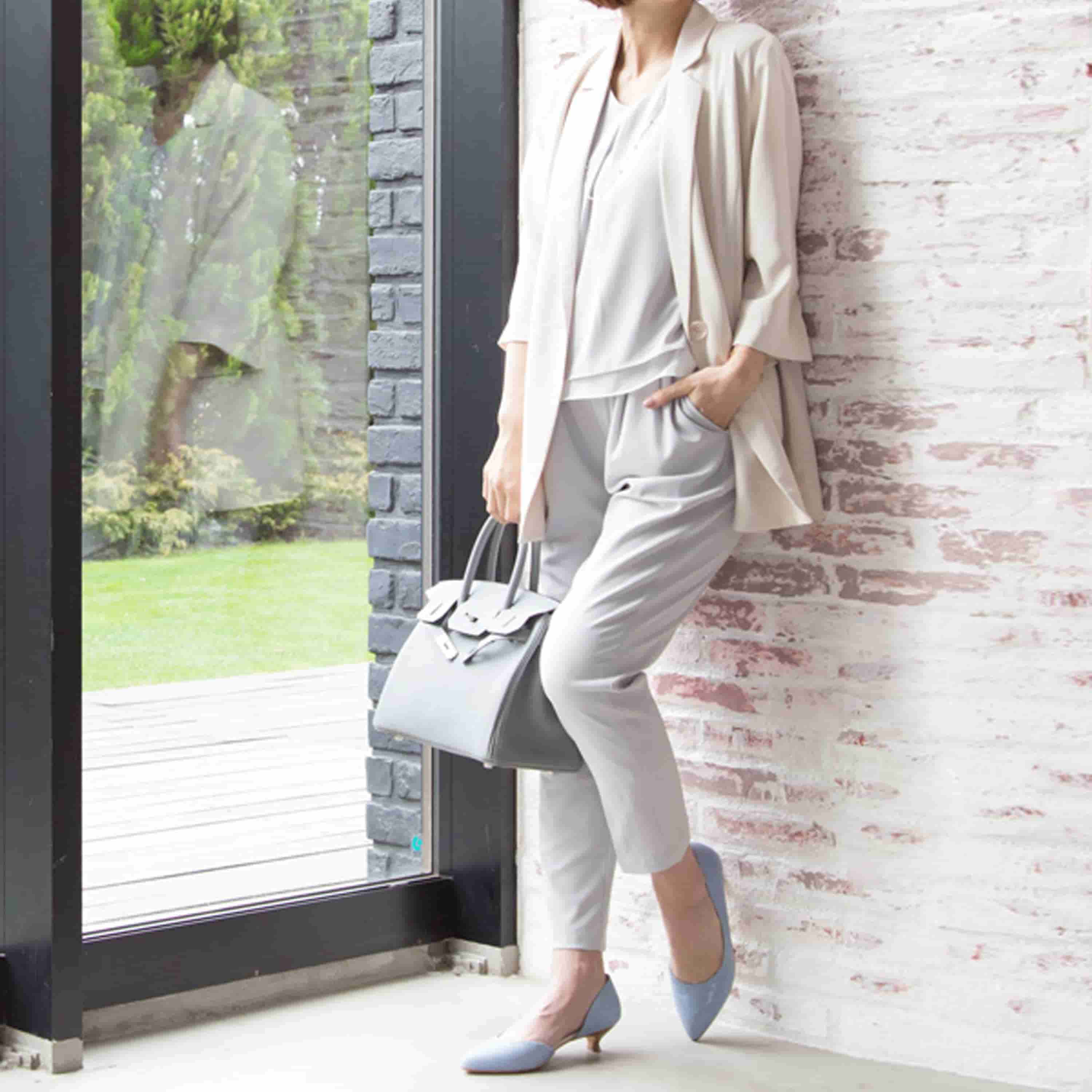 Maternity and Nursing Classic Long Pink Jacket