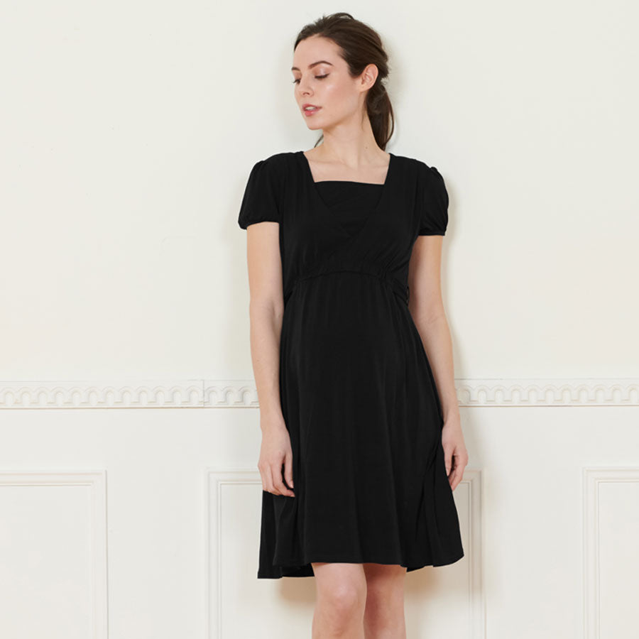 Maternity and Nursing LITTLE BLACK DRESS