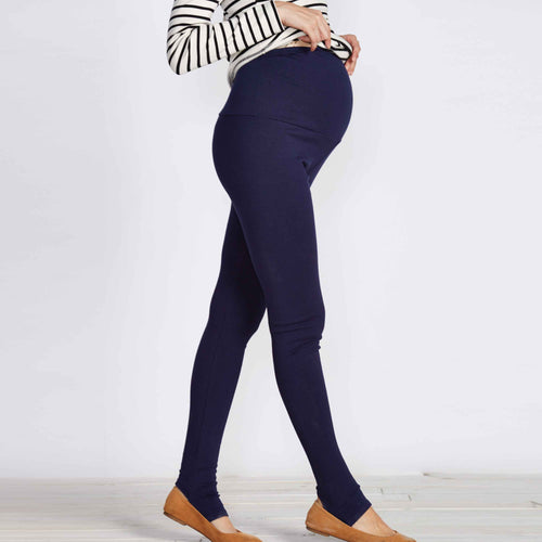 Maternity Warm 100% Cotton Stretchy Leggings