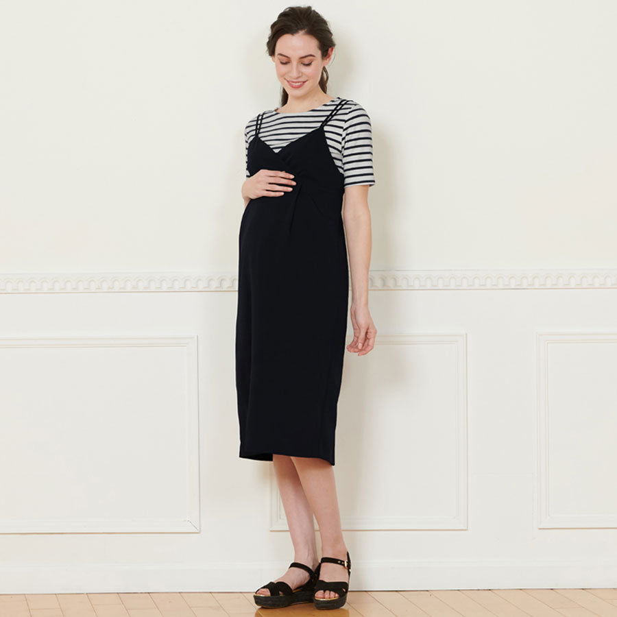 Maternity and Nursing Simple Top and Dress Set