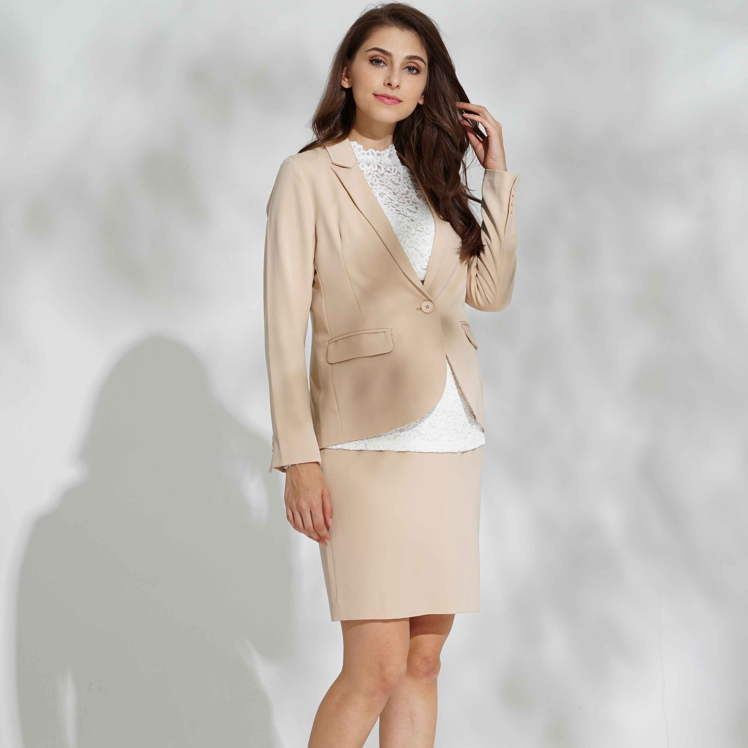 Sweet Mommy Maternity and Post-Partum Classic Jacket Skirt Suit