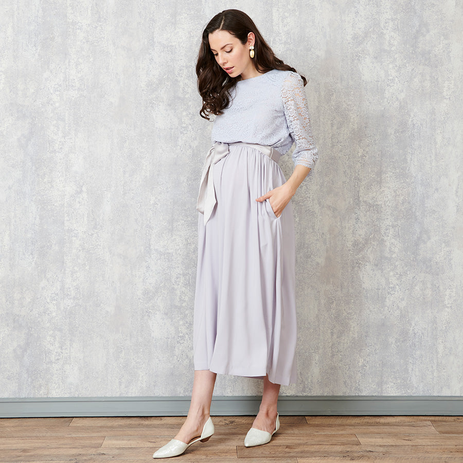 Sweet Mommy Maternity and Nursing Baby Shower Midi Dress