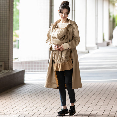 Cleanse Antibacterial Antiviral Fabric Unisex 3WAY Maternity Coat