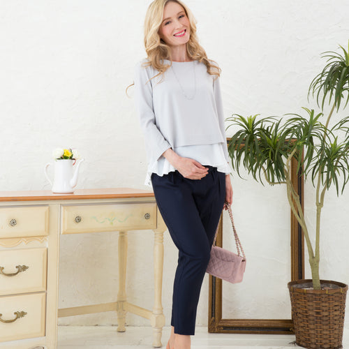 Maternity/ Pregnancy Classic Style Office Pants/ TROUSERS