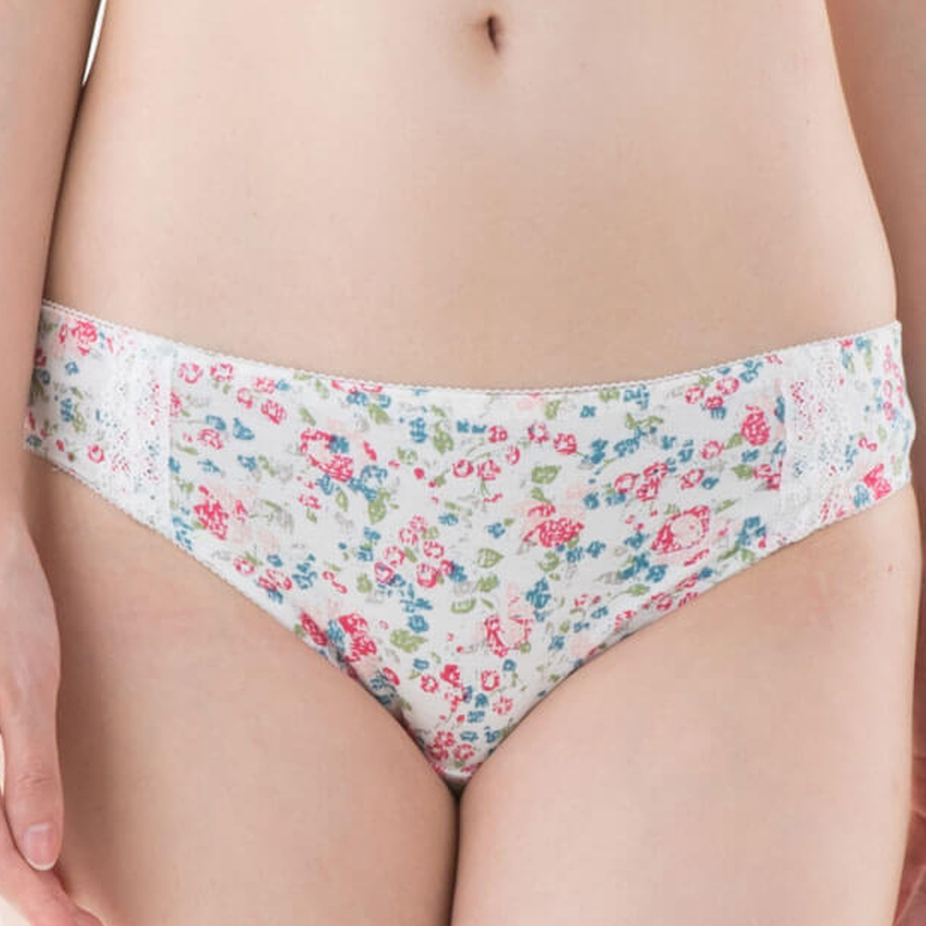 Sweet Mommy Flower Print Postpartum Panty