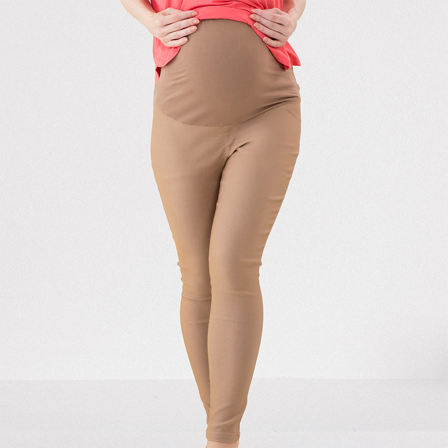 HIGH WAIST Maternity Skinny Stretchy Pants