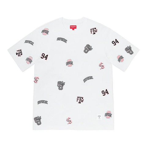 SUPREME UNIVERSITY S/S TOP WHITE SS20 SIZE M, L, XL