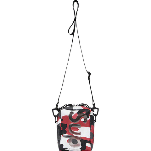 SUPREME NECK POUCH RED CAMO SS21