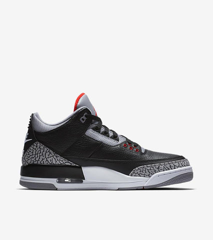 NIKE AIR JORDAN 3 RETRO BLACK CEMENT STYLE  854262001