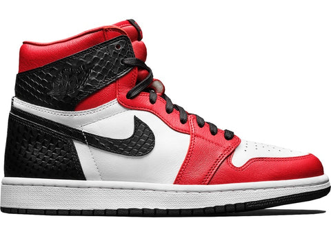 JORDAN 1 RETRO HIGH SATIN SNAKE CHICAGO (W) CD0461601 SIZE 7W, 7.5W, 9.5W