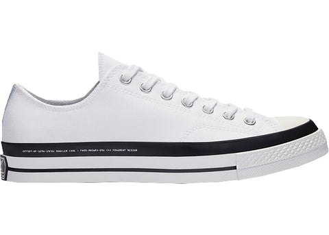 CONVERSE CHUCK TAYLOR ALL-STAR 70S OX 7 MONCLER FRAGMENT WHITE 169070C SIZE 5.5