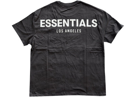 FEAR OF GOD ESSENTIALS LOS ANGELES 3M BOXY T-SHIRT BLACK SIZE S, M