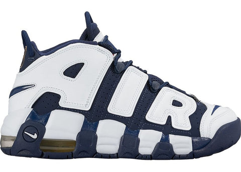 NIKE AIR MORE UPTEMPO OLYMPIC 2020 (GS) 415082104 SIZE 4.5Y, 5Y, 5.5Y, 6Y, 6.5Y, 7Y
