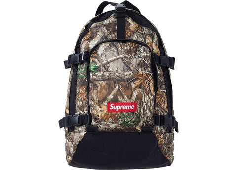 SUPREME BACKPACK REAL TREE FW19