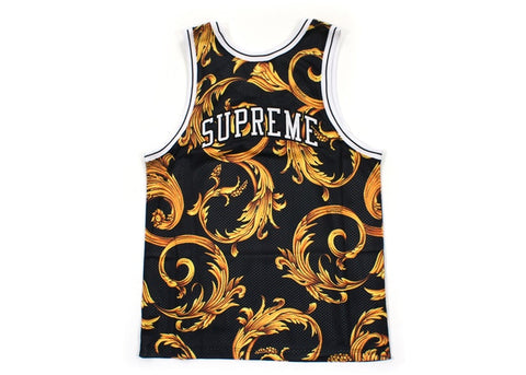 SUPREME NIKE BASKETBALL JERSEY BLACK (PRE-OWNED) SIZE M