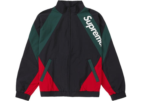 SUPREME PANELED TRACK JACKET BLACK SS20 SIZE M