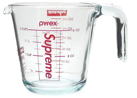 SUPREME PYREX 2-CUP MEASURING CUP CLEAR FW19