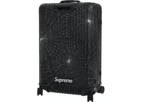 SUPREME RIMOWA CHECK-IN L BLACK FW19