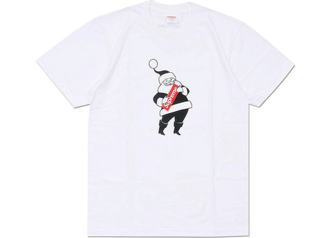 SUPREME SANTA TEE WHITE (PRE-OWNED) FW16 SIZE M