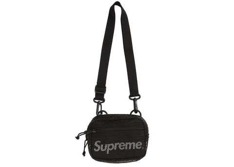 SUPREME SHOULDER BAG BLACK SS20