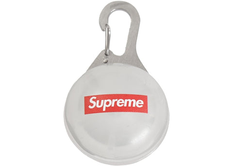 SUPREME SPOT LIGHT KEYCHAIN CLEAR SS19