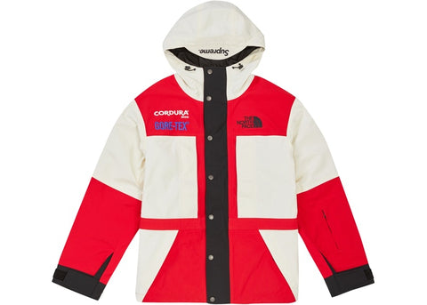 SUPREME TNF EXPEDITION JACKET WHITE (PRE-OWNED) SIZE L