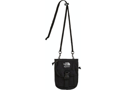 SUPREME THE NORTH FACE RTG UTILITY POUCH BLACK SS20