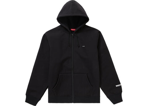 SUPREME WINDSTOPPER ZIP UP HOODIE BLACK FW19 SIZE S, L