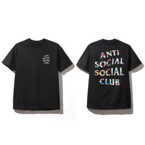 ASSC FLAGS TEE BLACK SIZE M