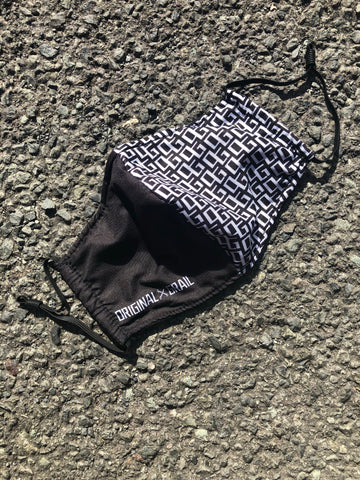 OG Split Monogram Reusable Face Mask
