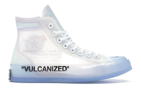 OFF-WHITE CONVERSE ALL STAR 70S HI VULCANIZED (PRE-OWNED) 162204C SIZE 10.5