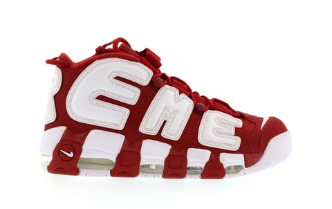 SUPREME AIR MORE UPTEMPO RED 902290600 SIZE 8.5, 9, 9.5