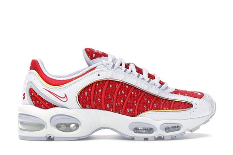 SUPREME AIR MAX TAILWIND 4 WHITE AT3854100 SIZE 8, 10, 10.5