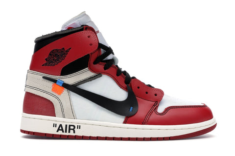 OFF WHITE JORDAN 1 CHICAGO (PRE-OWNED) AA3834101 SIZE 8.5