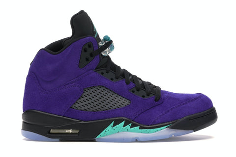 JORDAN 5 RETRO ALTERNATE GRAPE 136027500 SIZE 8.5, 9