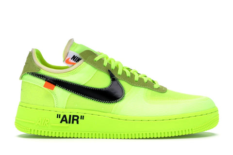 OFF WHITE AIR FORCE 1 VOLT AO4606700 SIZE 5, 9.5