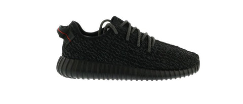 YEEZY BOOST 350 PIRATE BLACK (2016) (PRE-OWNED) (NO BOX) BB5350 SIZE 9