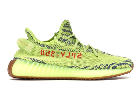 YEEZY BOOST 350 V2 SEMI FROZEN YELLOW B37572 SIZE 9.5