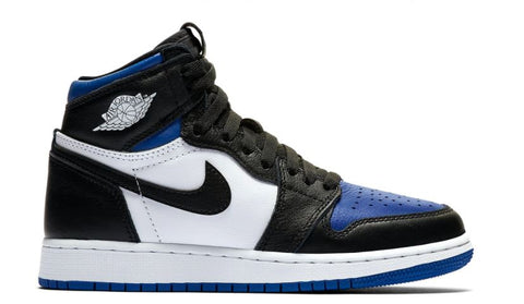 JORDAN 1 RETRO HIGH ROYAL TOE (GS) 575441041 SIZE 6.5Y, 7Y