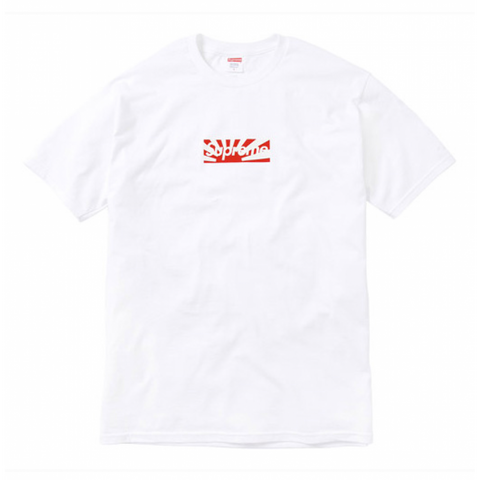 SUPREME JAPAN RELIEF BOX LOGO TEE (PRE-OWNED) SIZE S
